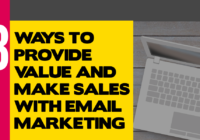 Make sales with email marketing