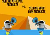 Promote affiliate products or sell your own products