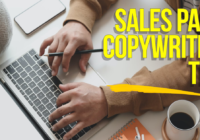 Sales Page Copywriting Tips